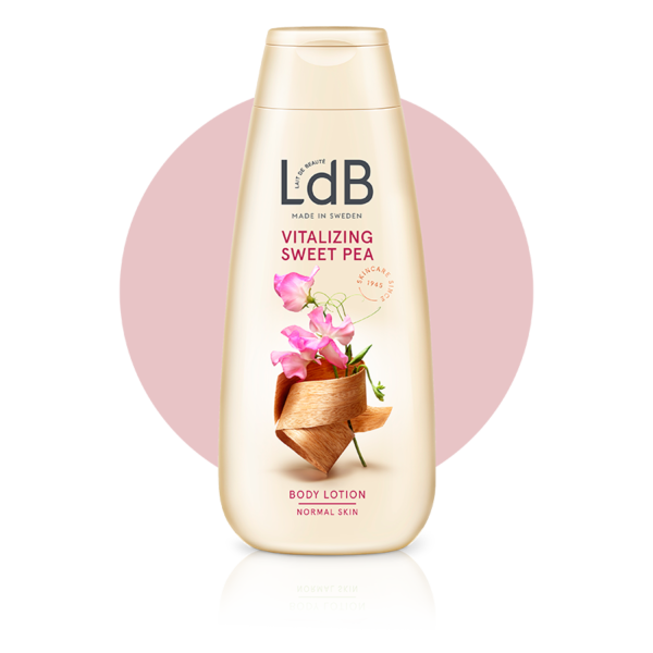 LdB Vitalizing Sweet Pea Body Lotion för normal hud