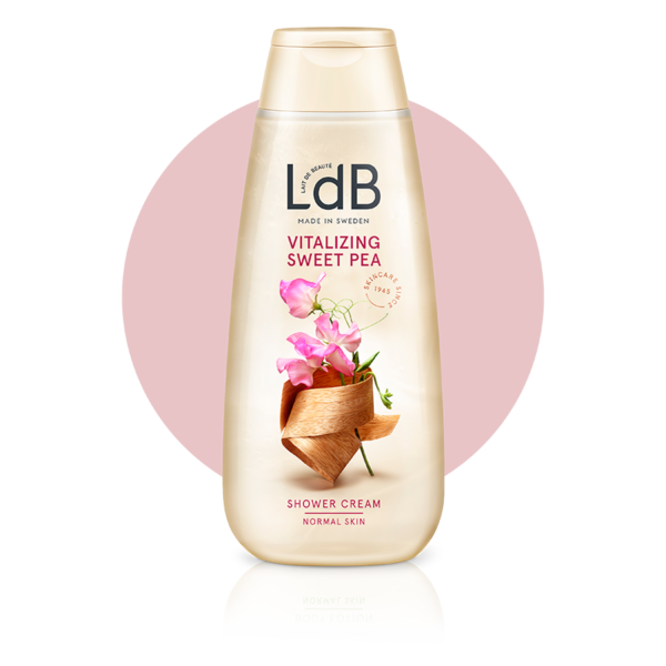 LdB Vitalizing Sweet Pea Shower Cream, duschkräm för normal hud