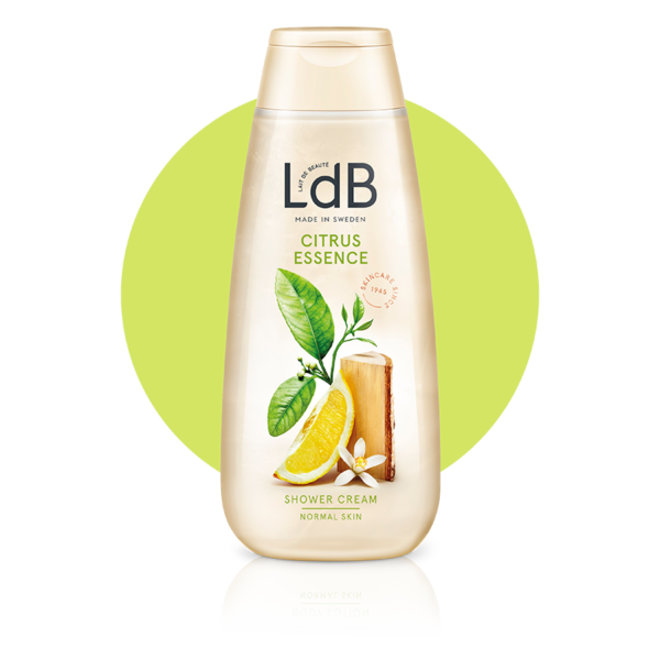 LdB Citrus Essence Shower Cream, duschkräm för normal hud